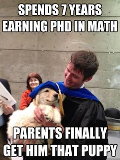 re-pinning b/c nothing is cuter than that puppy with a graduation cap on!!  AHHH!