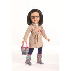 Journey Girls 18 inch Doll - Dana (Khaki Coat) - Toys R Us - Toys ...
