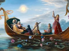 Lord Krishna is the focus of the ardour of the gopis, the object of their…