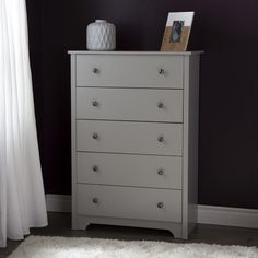 Found it at AllModern - Vito 5 Drawer Chest