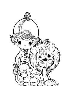Precious Moments Coloring Pages. Welcome to the precious moments coloring pages! By the way, do you know what the precious moments coloring pages are? Lion Coloring Pages, Boy Coloring, Easter Coloring Pages, Coloring Pages For Girls, Cartoon Coloring Pages, Free Printable Coloring Pages, Coloring For Kids, Coloring Books, Coloring Sheets