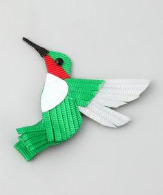 Green Hummingbird Clip