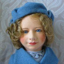 Chad Valley Cloth Royal Children Princess Elizabeth Doll