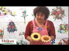 Rosas Moldes de Flores para hacer Arreglos Florales en Fomi, Goma EVA HD - YouTube
