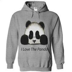 I Love The Panda - #candy gift #hoodie dress