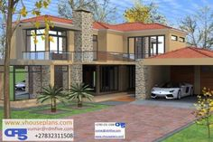 Dream Homes, My Dream Home, All Design, House Design, Outdoor Paving, Double Storey House, Site Plans, Garage Plans, House Floor Plans