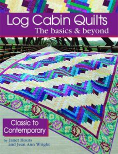Modern Log Cabin Quilts
