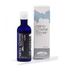 Argento Colloidale Vero 10 ppm 200 ml Nano Cristal Silver