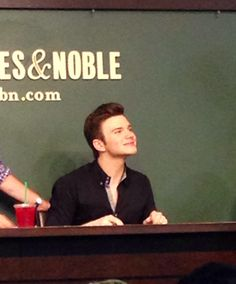 Chris Colfer book signing 07/08/14!