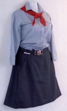 Pionierska rovnošata Best Memories, Childhood Memories, Retro 1, Socialism, Nasa, Old School, Retro Fashion, High Waisted Skirt, Hipster