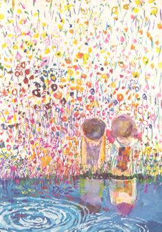Brian Wildsmith: A Child's Garden of Verses  This picture makes me want to cry it is so beautiful!!!!!