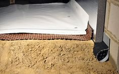 Best practices for controlling moisture in dirt crawl space floors