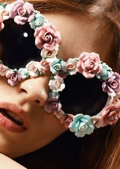 Gives new meaning to Rose-colored glasses!