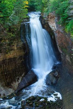 Miners Falls - Pictured Rocks National Lakeshore, Michigan