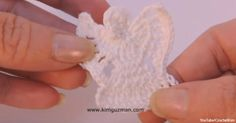 With These Whimsical Crochet Pins, You'll Always Have an Angel Guarding Over You