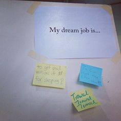 Question. What is your dream job? #WITnext #traveljobcamp #Webintravel #travel #SMU #Singapore #university - @webintravel- #webstagram