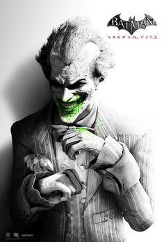 Identidad visual de Batman: Arkham City   Joker