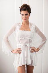 Julia Robe-Wedding Lingerie from The Giving Bride #boudoir #Swarovski #madeinamerica