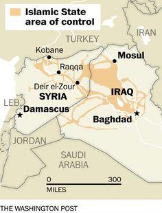 The islamic state renamed kobane on google maps