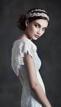 """Claire Pettibone 2015 Bridal Collection """"Gothic Angel"""""""