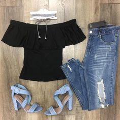 Nika Off Shoulder Top Colors) Off Shoulder Tops, Off Shoulder Blouse, Colors, Outfits, Collection, Women, Fashion, Moda, Suits