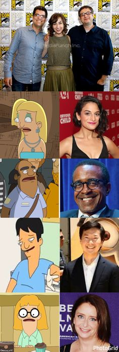 Top the Voices of the Belcher Kids. Other voices for other characters