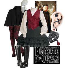 Lolita Halloween Costumes: Phantom of the Opera - Polyvore