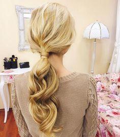 a beautiful ponytail by jane_hahaeva