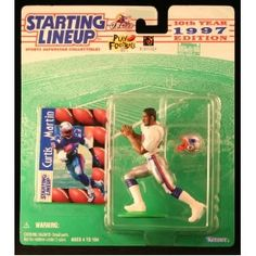 CURTIS MARTIN / NEW ENGLAND PATRIOTS 1997 NFL Starting Lineup Action Figure & Exclusive NFL Collector Trading Card (Toy)  http://budconvention.com/zone1.php?p=B000R1TC1A  #newyork