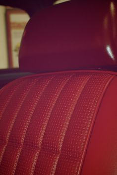 Red leather interior! Our #FirstHonda had #swag! What's in your Honda?
