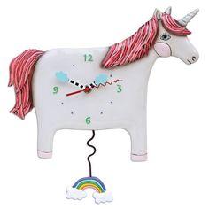 Unicorn Buttercup Wall Clock
