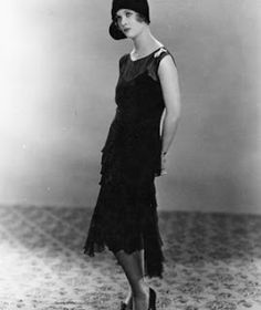 Coco Chanel 1920. Creator of- The Little Black Dress.