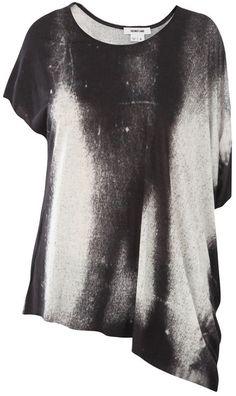 Helmut Lang printed jersey top $270