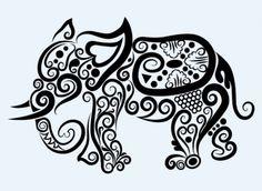 line art animal patterns vector | Download free Vector