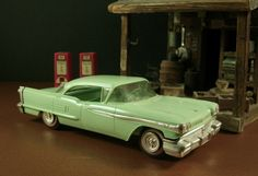 1958 Oldsmobile 98 Dealer Promotional Model Car // American Automotive Advertising Swag // from Successionary