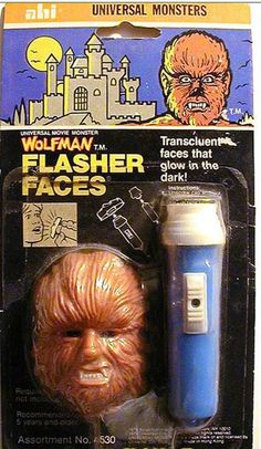 """zgmfd: """" Universal Pictures The Wolfman Monster pencil sharpener (ABG products """" Halloween Horror, Halloween Fun, Halloween Icons, Retro Toys, Vintage Toys, Vintage Movies, Monster Toys, Monster Mash, Creepy Toys"""