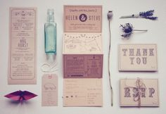 Country Inspired Wedding Invitations by Bridges and Eggs via Oh So Beautiful Paper (4)