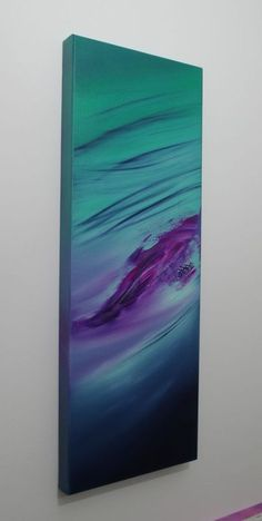 """""""Immensity I (the series), 30x80 cm, Deep edge, Original abstract painting, oil on canvas"""" by Davide De Palma. Oil painting on Canvas, Subject: Abstract and non-figurative, Abstract style, One of a kind artwork, Signed on the back, This artwork is sold unframed, Size: 30 x 80 x 4 cm (unframed), 11.81 x 31.5 x 1.57 in (unframed), Materials: Oil on canvas, palette knife, paintbrush, fingers, final varnish"""