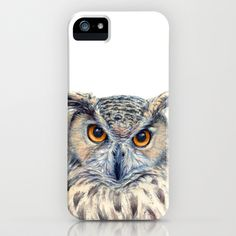 Eage Owl CC1404 iPhone & iPod Case by S-Schukina - $35.00