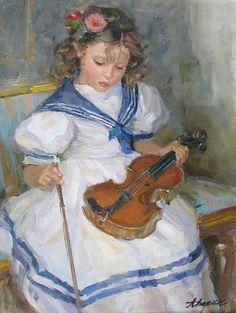 ALEXANDER AVERIN (Russian Painter