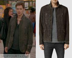 The Originals: Season 3 Episode 8 Klaus' Olive Leather Jacket