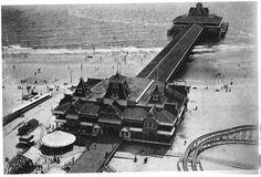 Iron Pier in 1895 (Coney Island, Brooklyn)