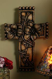Dogwood Stone Cross $35.00 http://www.celebrateyourfaith.com/Dogwood-Stone-Cross-P2863C603.cfm