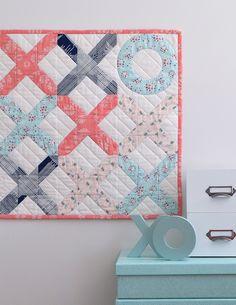 SheQuiltsAlot Love Letter Mini Quilt Pattern