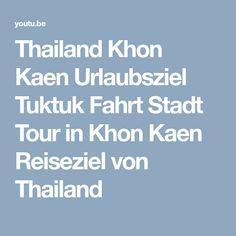 Thailand Khon Kaen Urlaubsziel Tuktuk Fahrt Stadt Tour in Khon Kaen Reiseziel von Thailand