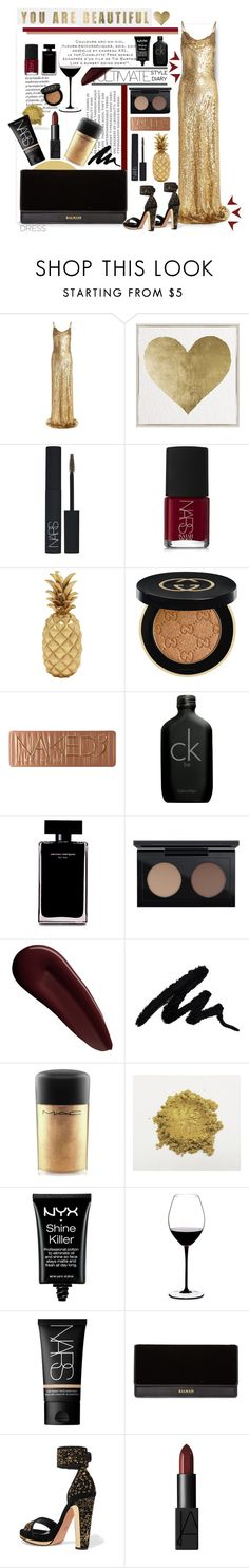 """""""Why's it easier to burn, than it is to heal?"""" by laurasuursepp ❤ liked on Polyvore featuring Michael Kors, Oliver Gal Artist Co., NARS Cosmetics, Benzara, Gucci, Urban Decay, Calvin Klein, Narciso Rodriguez, MAC Cosmetics and Surratt"""