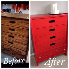 Dresser makeover- penny pinchers find!