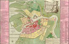 BAROK. Petersburg, dawna stolica Rosji – od pałacu ulice odchodzą promieniście przecinając kolejne pierścienie kanałów.