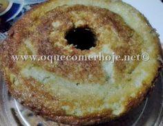 Receita de Bolo de arroz cozido (fácil e rápido)