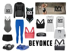 """different combo outfits from Ivy Park"" by jessgray-jg ❤ liked on Polyvore featuring Topshop and Ivy Park"